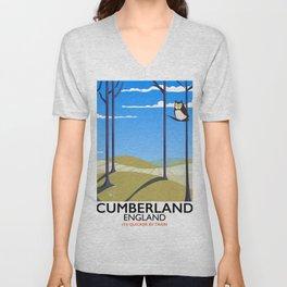Cumberland England Unisex V-Neck
