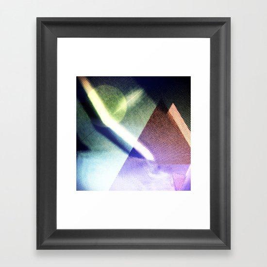 MOONLIGHT_COLOR Framed Art Print