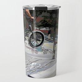 """Getting Air"" - BMX Rider Travel Mug"