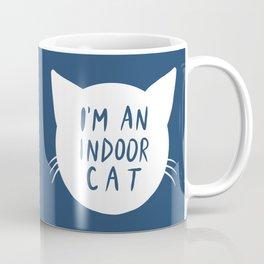 Indoor Cat (silhouette) Coffee Mug