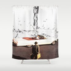 Drive It All Over Me Shower Curtain
