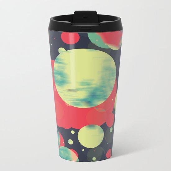 Planets 01' Metal Travel Mug