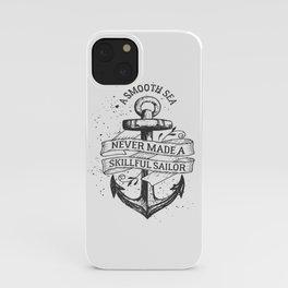 A smooth sea iPhone Case