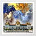 Palace in heaven by dardaniii