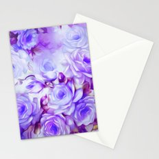Shabby Chic Purple Stationery Cards