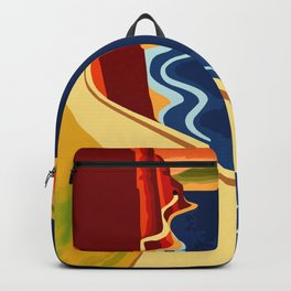 Gardone Lake Garda  Backpack