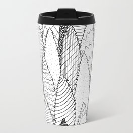 Pattern Trees Travel Mug