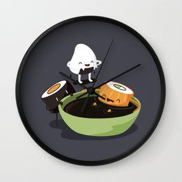 Sushi Bath Wall Clock