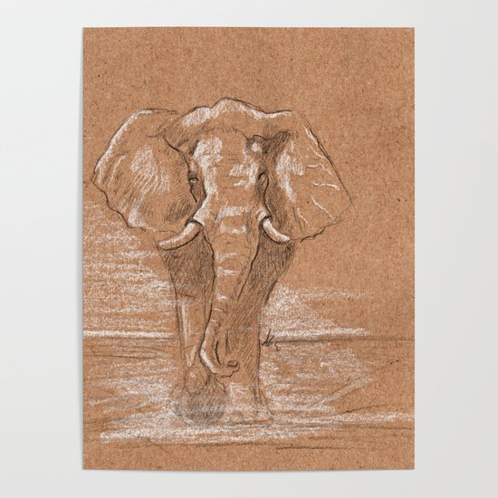 Elephant by agatascribbles