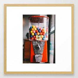 Gum ball  Framed Art Print
