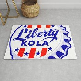 Vintage Liberty Kola Soda Pop Bottle Cap Rug