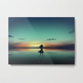 The Second Child Metal Print