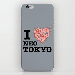 I Tetsuo Neo Tokyo iPhone Skin