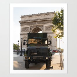l'Armée @ Arc de Triomphe Art Print