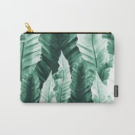 Underwater Leaves Vibes #2 #decor #art #society6 Carry-All Pouch