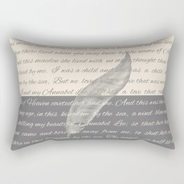 ANNABEL LEE (Allan Poe) Rectangular Pillow