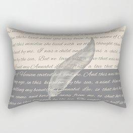 ANNABEL LEE (Allan Poe) Rectangular Pillow