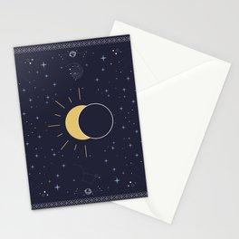 Solar Eclipse 2017 Stationery Cards