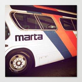 Marta Transit Canvas Print