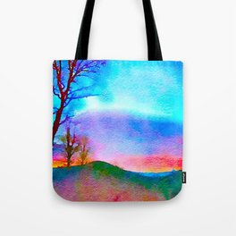 Rainbow, The Eden of Creativity Tote Bag
