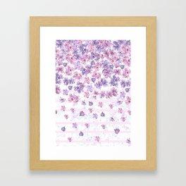 Make It Rain Flowers Framed Art Print