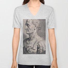 Gaius Julius Caesar Unisex V-Neck
