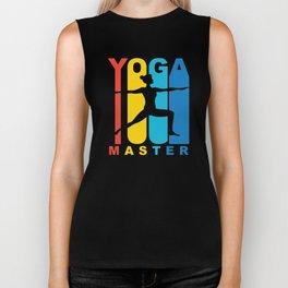 Retro 1970's Style Yoga Master Biker Tank