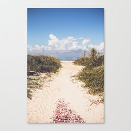 The Beach Path Canvas Print