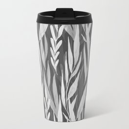 Watercolor Spring Leaves VI Travel Mug