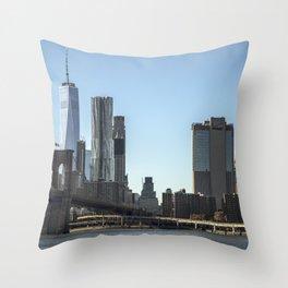 New York City PHOTOGRAPHY Throw Pillow