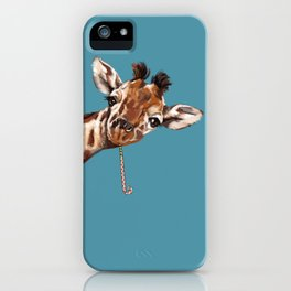 Sneaky Giraffe iPhone Case