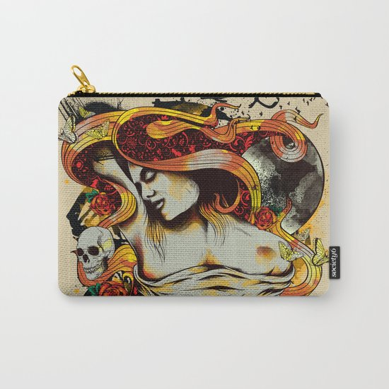 Fragmented Beauty Carry-All Pouch