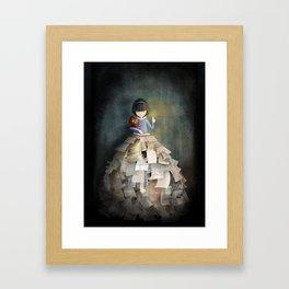 La Bibliothèque Oubliée Framed Art Print