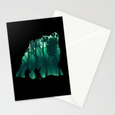 Revenge of the Wild Stationery Cards