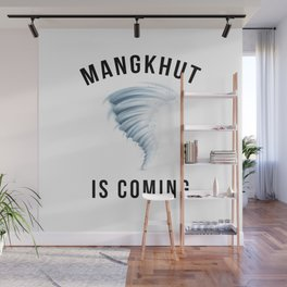 MANGKHUT IS COMING Wall Mural