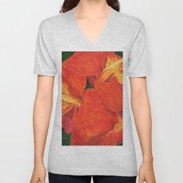 Cana Lily by Teresa Thompson Unisex V-Neck