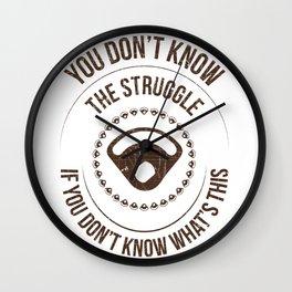 The Kawasaki KLR650 Doohickey Struggle Wall Clock
