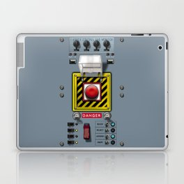 Launch console for nuclear missile Laptop & iPad Skin