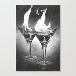 Hot Drink Canvas Print