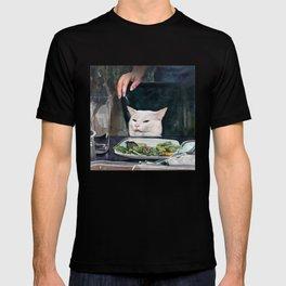 Woman Yelling at Cat Meme-2 T-shirt