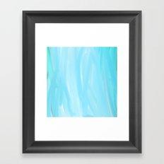 BLEU Framed Art Print