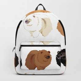 Chow Chow Backpack