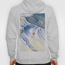 Powder Skiing 2 Hoody