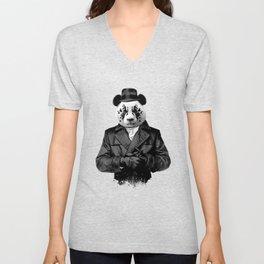 Rorschach Panda Unisex V-Neck