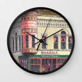Adelmann Building Wall Clock