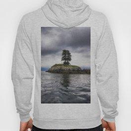 Twin Trees on an Island - Resurrection Bay, Alaska Hoody