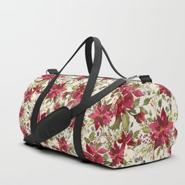 POINSETTIA - FLOWER OF THE HOLY NIGHT Duffle Bag