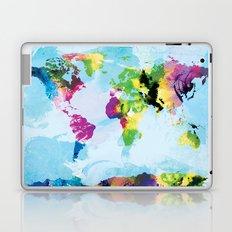 One Colourful World / Blue Laptop & iPad Skin
