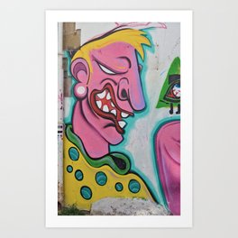 Graffiti4 Art Print