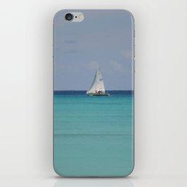 White sails iPhone Skin